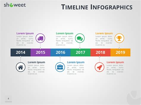 powerpoint template timeline timeline infographics templates for powerpoint