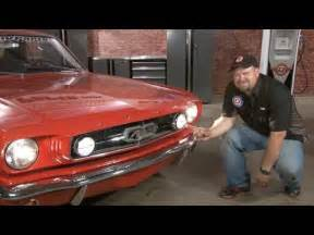 What Is A Light Valance Mustang Fog Light Conversion Kit 1965 Installation Youtube