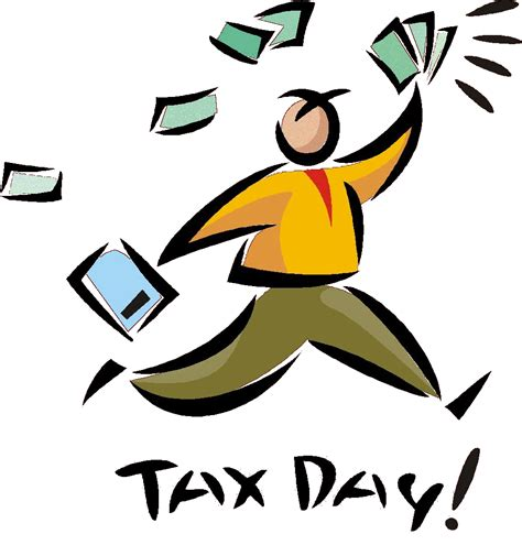 Tax Day Clipart