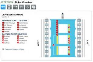 denver airport map us airways denver international airport terminal maps for transportation