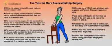 Hip Replacement Surgery Recovery Time Stairs by Better Choices For Hip Surgery And Faster Healing And
