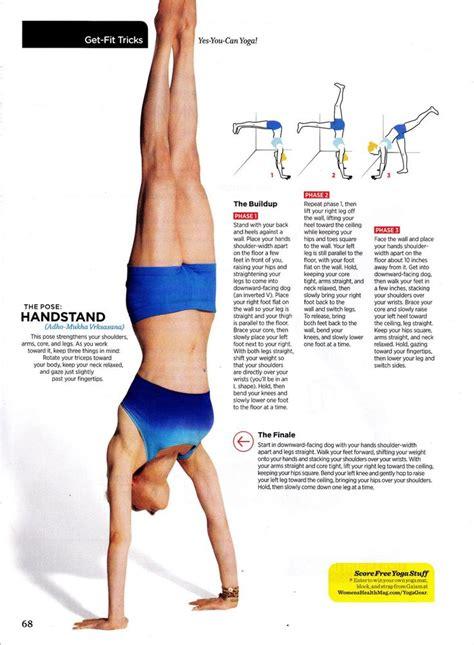 tutorial handstand yoga handstand rocks fitness pinterest handstand
