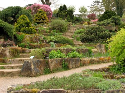 Rock Garden Steps Rock Garden At Wisley The Enduring Gardener