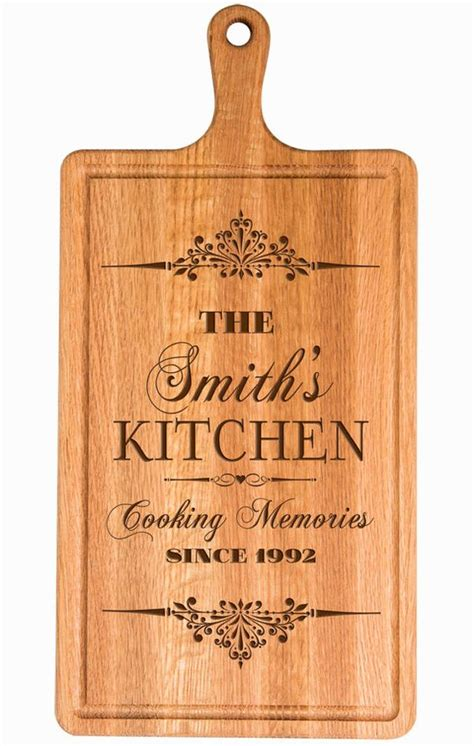 Cherry B Wine 4x personalized cutting board custom laser engraved cutting