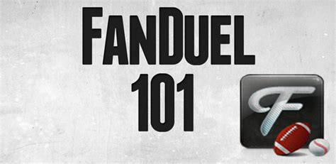 How To Win Money On Fanduel - how to win on fanduel