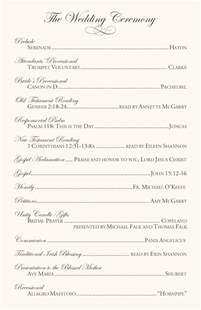 catholic mass wedding programs catholic mass wedding ceremony catholic wedding traditions celtic wedding program exles