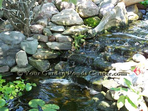 Waterfall Ponds Backyard Backyard Waterfall Pictures Waterfall Garden Pictures