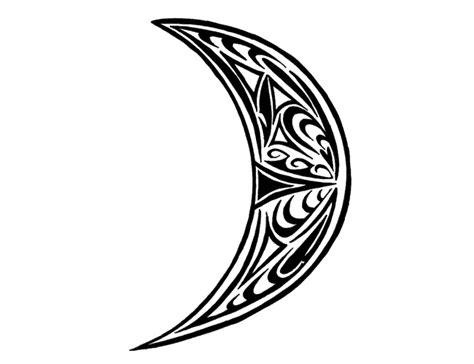 tribal crescent moon tattoo tribal celtic crescent moon tabatha