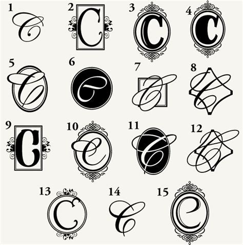 tattoo fonts letter c monogram c for the home pinterest monograms tattoo