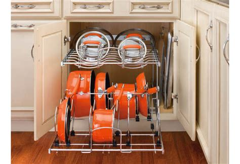 Rev A Shelf Pots And Pans Organizer by Organize Your Kitchen With The Rev A Shelf 5cw2 Cookware
