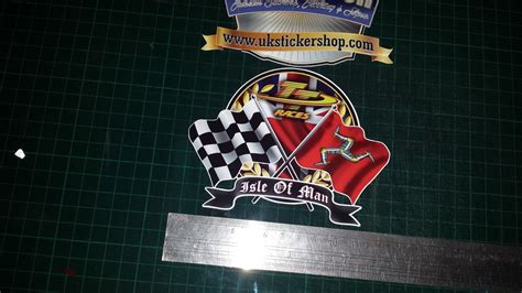 Sticker Helm Motogp by Isle Of Man Tt Races Decal Sticker Manx Moto Gp Racing