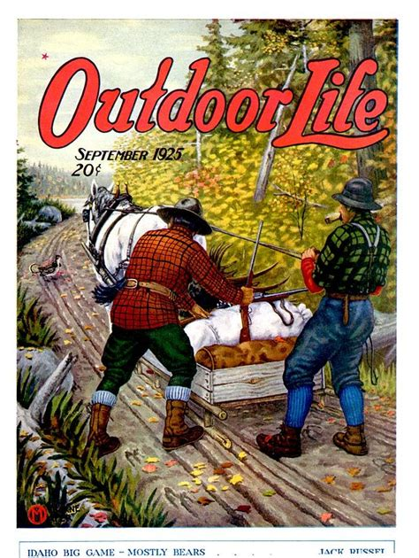 outdoor life 1000 images about vintage outdoor magazine art on