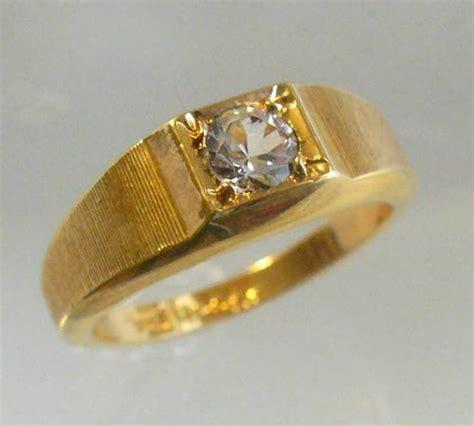 avon vintage 1970 25ct brilliantelle ring 18k hge sizes
