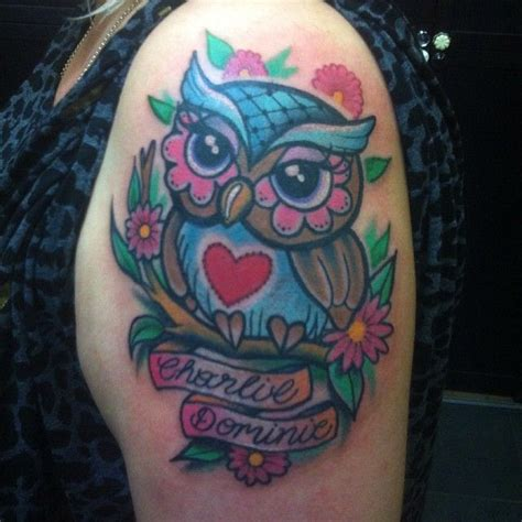 cute owl tattoo cute girly owl tattoos adorable owl on