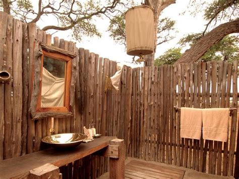Bush Bathroom Linyanti Bush C Botswana Go2africa