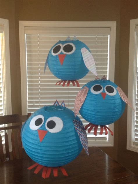 104 Best Owls Images On Owl Classroom Ideas - owl lanterns for owl and chevron themed classroom