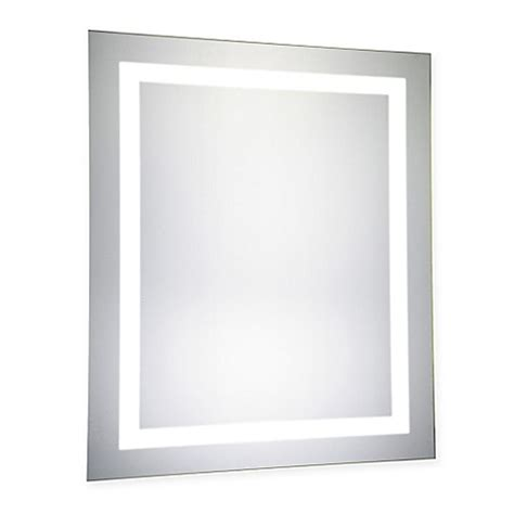 30 inch mirror buy 20 inch x 30 inch led electric mirror from bed bath