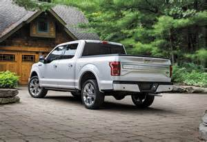 Ford F 150 2016 2016 Ford F 150 Limited Loads Up On Luxury And Tech