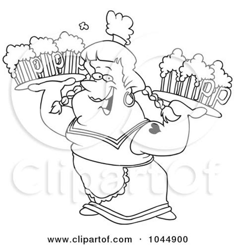 cartoon beer black and royalty free rf frau clipart illustrations vector