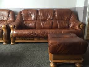 leather sofa suite roma fissato tabac made in belgium