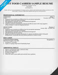 Resume Sample For Cashier by 17 Best Images About Resume On Pinterest High