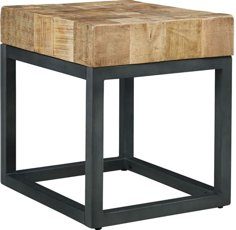 Two Tone End Table by Prinico Two Tone Chair Side End Table T943 7