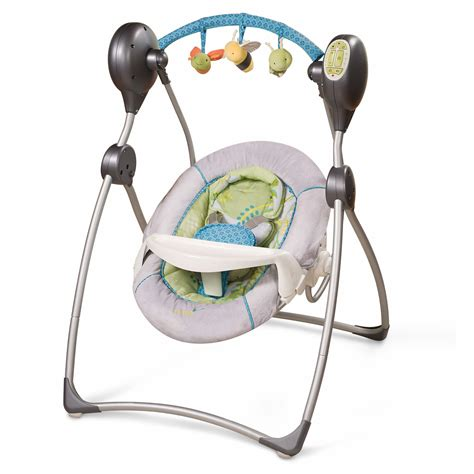 summer baby swing summer infant carter s flitter cozy comfort musical swing