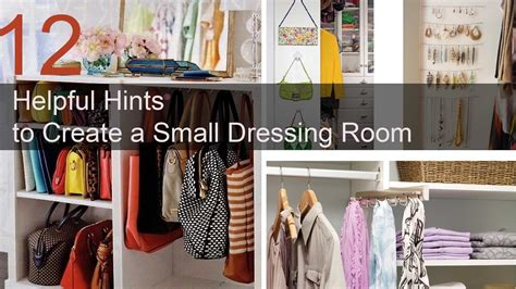Music Room Ideas 12 helpful hints to create a small dressing room youtube