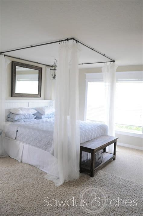 diy bedroom canopy diy canopy bed tutorial someday bedroom house pinterest