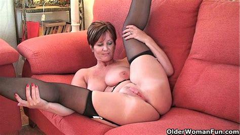 British Milf Joy Exposing Her Big Tits And Hot Fanny