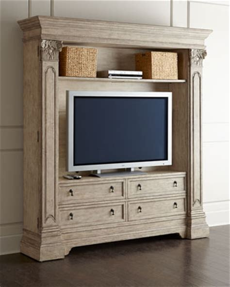 brice entertainment center bookcase