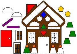 shape house learning printables for