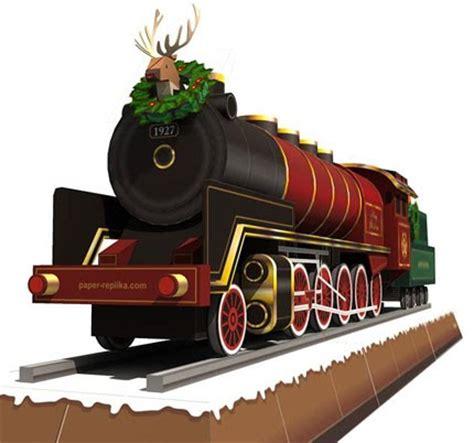 printable paper christmas train christmas train papercraft papercraft paradise