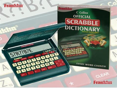 electronic scrabble dictionary franklin collins official scrabble dictionary electronic