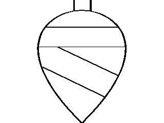 christmas tree light bulb coloring page christmas light bulb coloring page clipart panda free