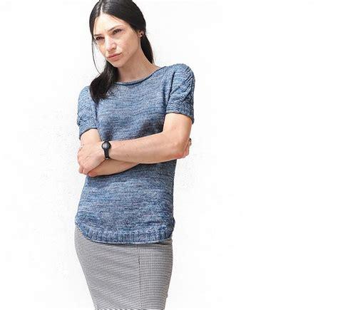 pattern maglia ai ferri lavoro a maglia estivo modello pullover in lana ai ferri