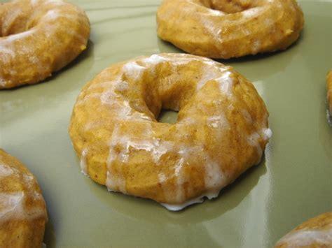 baked pumpkin doughnuts recipe food com