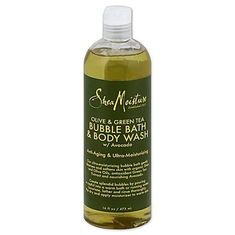 Shea Moisture Detox Bath by Sheamoisture 16 Oz Bath And Wash In Olive