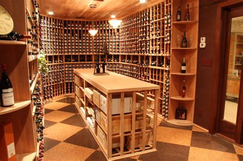 Affordable Barn Homes unique wine cellar ideas traditional wine cellar