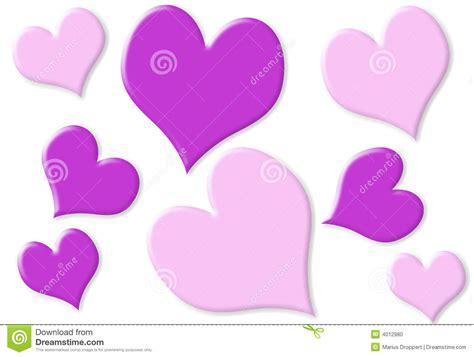 corazones peque 241 os y grandes al azar con 2 colores stock corazones peque 241 os y grandes al azar con color de rosa y