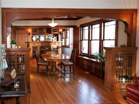 bungalow dining room a craftsman bungalow from quot rehab addict quot for sale
