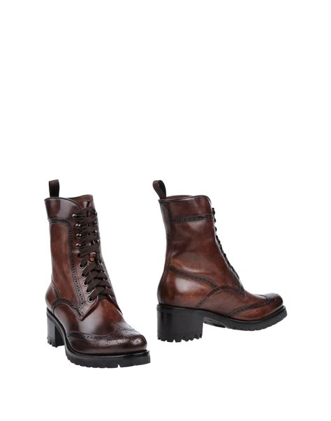 brown high heeled boots santoni high heeled boots in brown brown lyst
