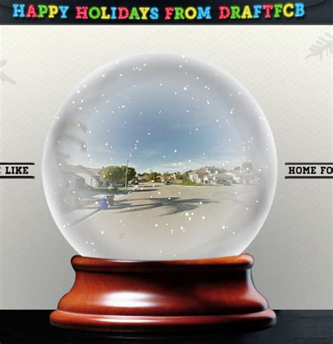 christmas fun see your house in a snow globe