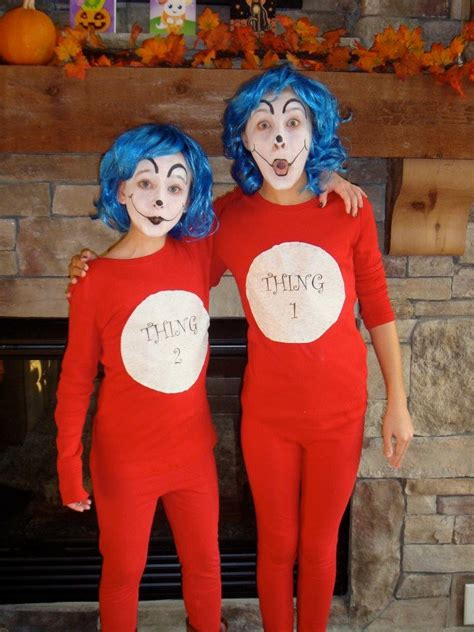 diy thing 1 and thing 2 costume 13 best costumes images on costume ideas