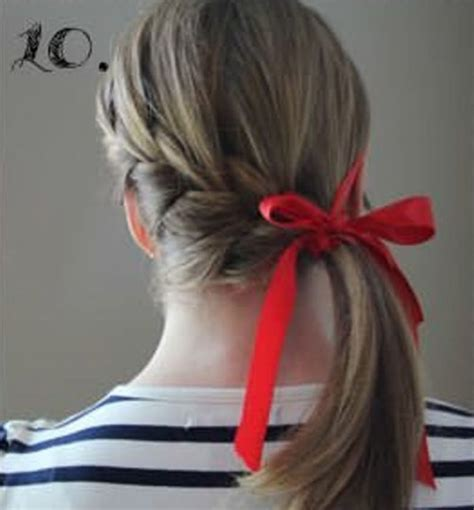 easy hairstyles ribbon 15 incredibly easy hairstyles with a ribbon for every day