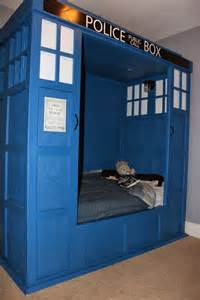 Dr Who Bedroom Ideas Dr Who Tardis Bed Build Bedroom My Likes Pinterest