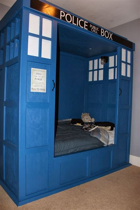 tardis bed dr who tardis bed build omg is it bad that i really want