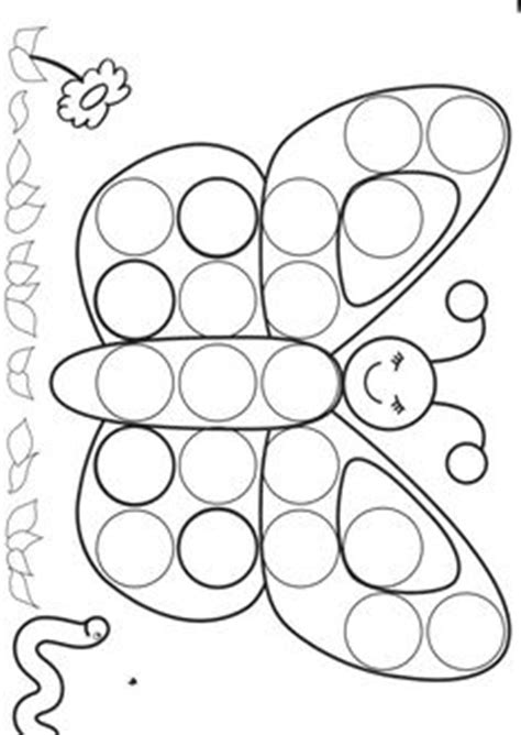 dauber coloring pages on pinterest do a dot markers and