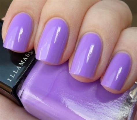 light color nail polish beautiful purple nail polish in light color style spring