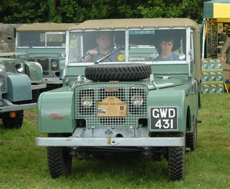 Topi Land Rover Series One Club land rover series one club 1948 03